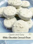 White Chocolate Covered Oreos Recipe
