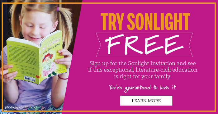Try Sonlight curriculum for free!