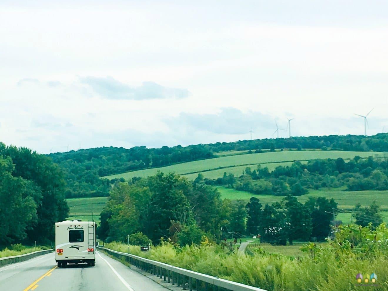 RV traveling