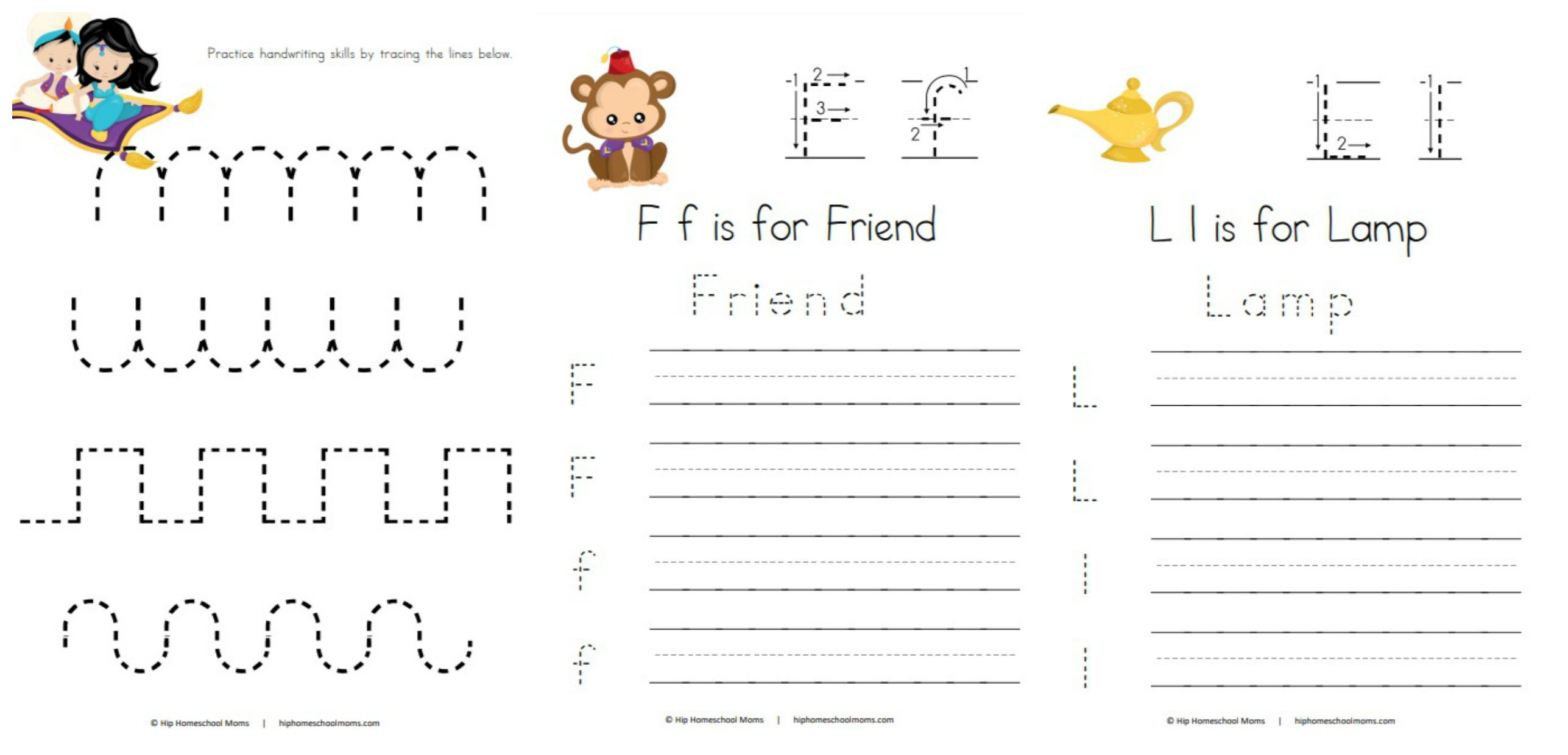 Sample Handwriting Pages