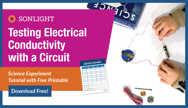 testing electrical conductivity with a circuit experiment