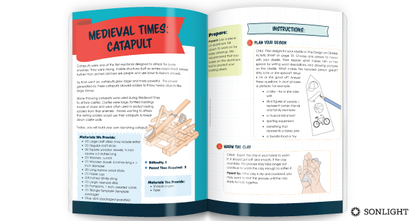 catapult-making booklet