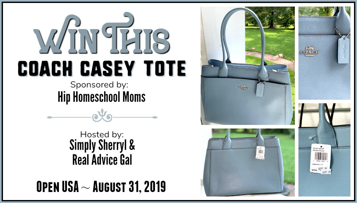Coach tote giveaway purse