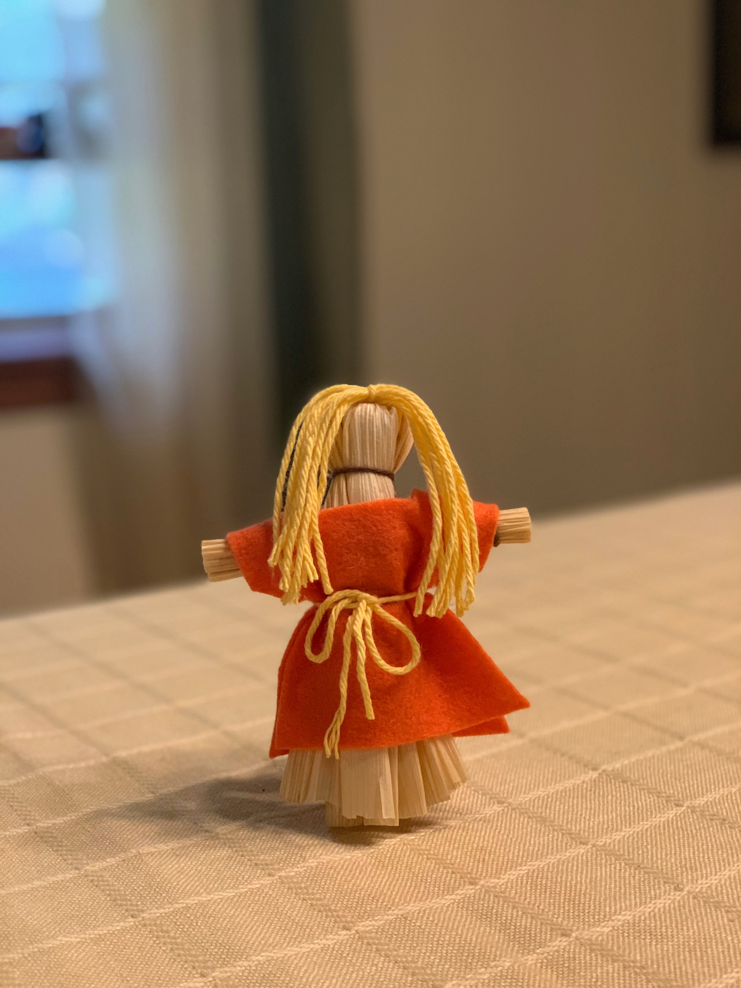 how to make corn husk dolls