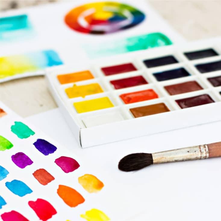 Easy Art Class The Color Wheel Hip Homeschool Moms