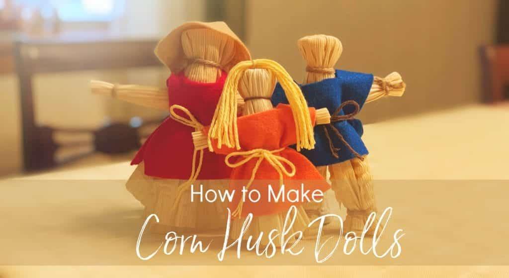 corn husk dolls