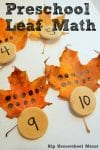 math activity for preschoolers