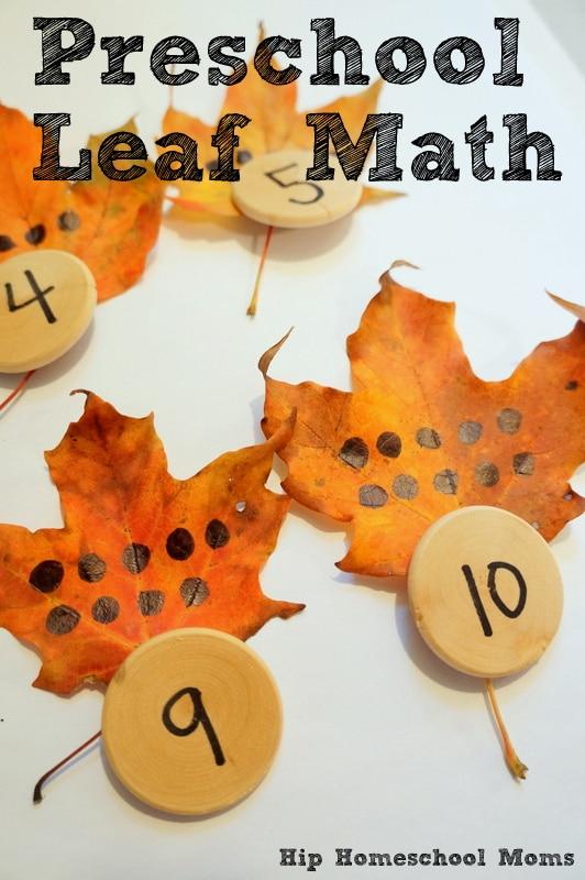 math activity for preschoolers
