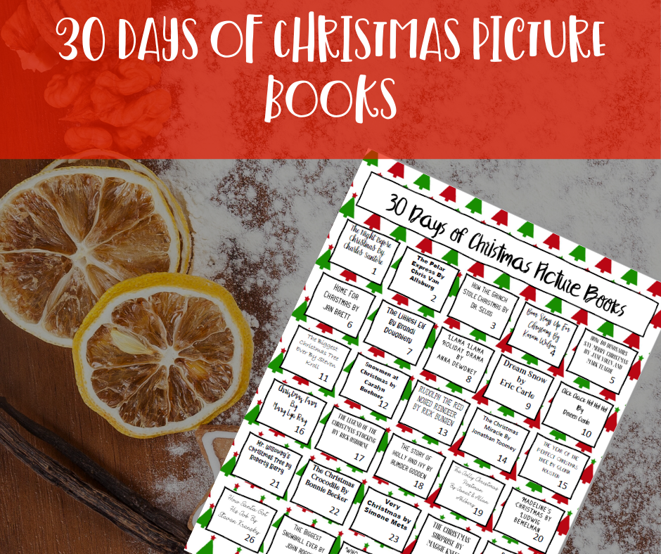 30 days of Christmas picture books |Hip Homeschool Moms
