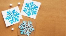 snowflake stamp examples