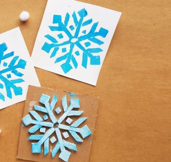 snowflake stamp examples