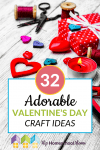 Here are Valentine's Day Craft Ideas! We hope you and your children find some you love. #Printables #Valentine #Crafts