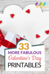 We hope you enjoy this second set of Valentine's Day printables! It is full of even more wonderful printables that are perfect for celebrating this awesome holiday! Take a look and grab them all! #Valentine #Printable #Homeschool