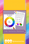 Help your child learn the basics of color with this Color Harmonies Workbook. #Printable #Arts #Homeschool