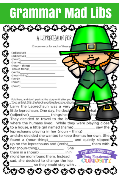Leprachan Mad Libs p. 3 Pinterest 400x600 1