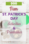 Pin Fun St. Patrick%E2%80%99s Day Activities and Printables 1