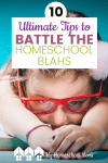 Sometimes our homeschools go through hard times. No matter what the reason for the slump in your homeschool, we've got some tips for getting back on track! #Homeschool