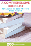 Pin A comprehensive book list for 12 year old boys who love Percy Jackson 1