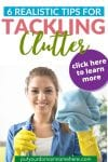 Pin 6 Realistic Tips for Tackling Clutter 5