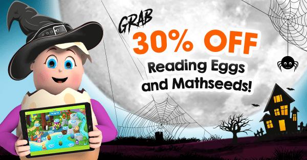 reading eggs halloween deal