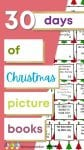 If you'd like to spend some time reading with your kiddos during the Christmas season, take a look at these 30 days of Christmas picture books!