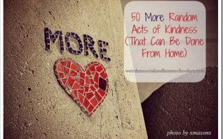 50 More Random Acts of Kindness