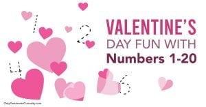 OPC Valentine Hearts Numbers 1 20 FB 1