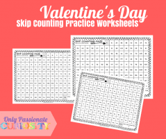 Valentines Day Skip Counting Practice Worksheets FP 768x644 1