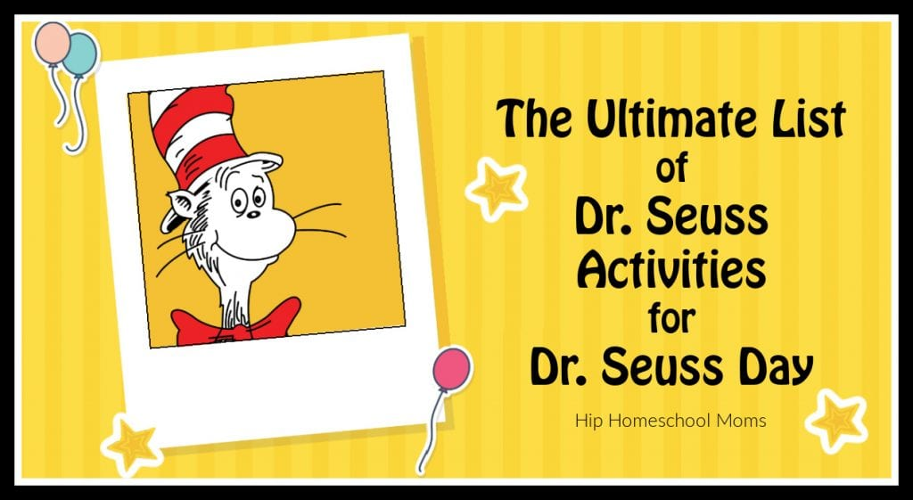 Dr. Seuss Day activities