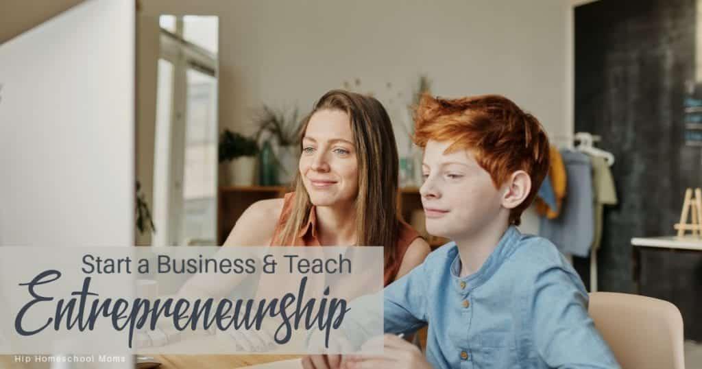 Start a business and teach Entrepreneurship 2