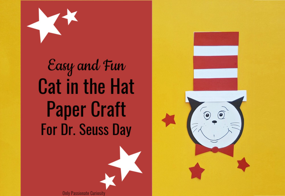 cat in the hat paper craft FB 1