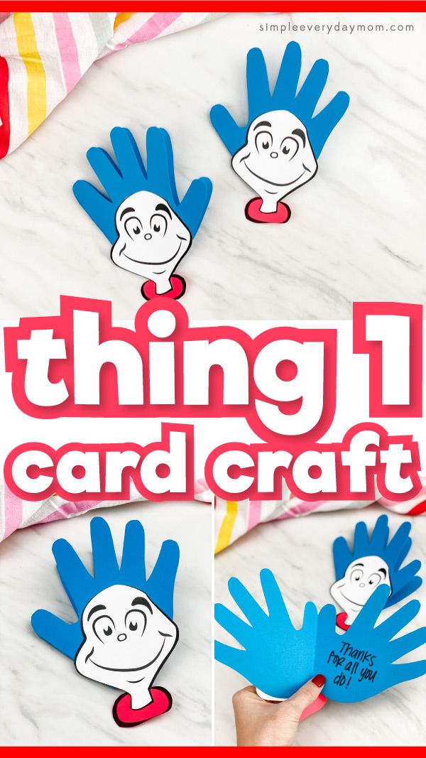 handprint thing 1 card craft pinterest image