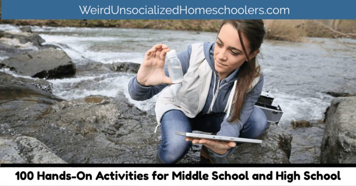 100 Hands On Activities for Middle School and High School FB Updated 1