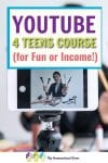 Do you have a teen who's interested in learning to use YouTube as a hobby or even income? This course is what you need! It is done in a fun way, and it is full of valuable information.