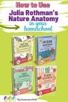 This Companion Notebook Series makes it fun and easy to use the Julia Rothman series of nature study books in your homeschool with no prep!