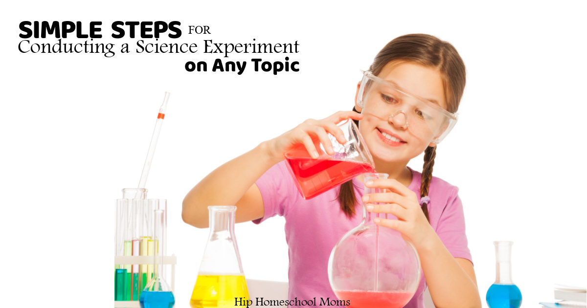 steps for conducting a science experiment