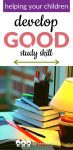Teaching our children to study can be challenging, but it's very important! These tips will help you teach your child good study skills!
