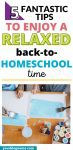 Want to enjoy the beginning of a new homeschool year? Try these 5 fantastic tips to enjoy a relaxed back-to-homeschool time!